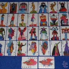 Barajas de cartas: MAZINGER Z - POKER - MICROMO. Lote 42750094