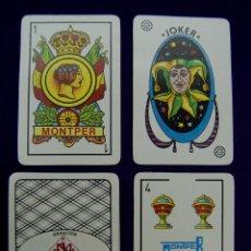 Barajas de cartas: BARAJA MONTPER PUBLICITARIA. GRANITOS MANUEL PIÑEIRO. AÑOS 90. POKER ESPAÑOL. SIN USAR.. Lote 219025562