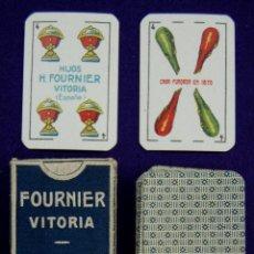 Barajas de cartas: BARAJA FOURNIER. LILIPUT 40 CARTAS. ESTUCHE RELIZADO POR LARRAMENDI - VITORIA. AÑO 1932-40. SIN USAR. Lote 42310047