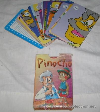 BARAJA DE CUARTETOS PINOCHO (Juguetes y Juegos - Cartas y Naipes - Barajas Infantiles)