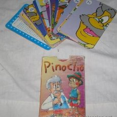 Barajas de cartas: BARAJA DE CUARTETOS PINOCHO. Lote 42416973
