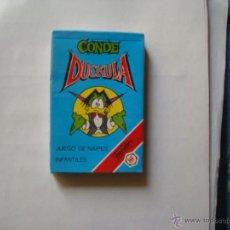 Jeux de cartes: CONDE DUCKULA DE FOURNIER Y NUEVA SIN ABRIR. Lote 42417562