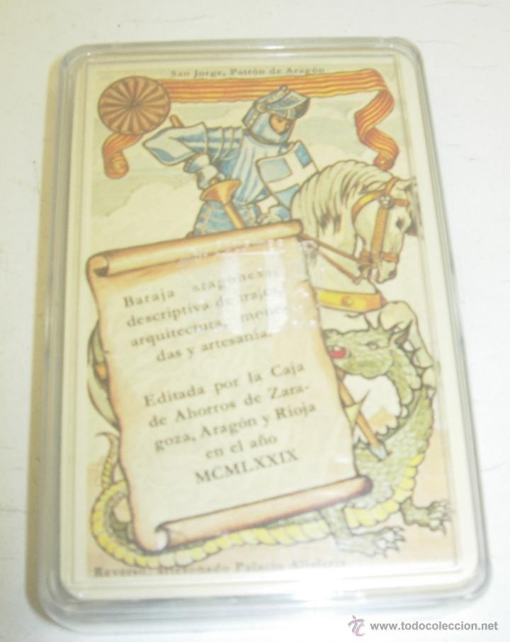 HERACLIO FOURNIER BARAJA ARAGONESA NUEVA PRECINTADA NAIPES CARTAS 1979 (Juguetes y Juegos - Cartas y Naipes - Baraja Española)