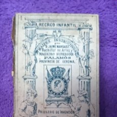 Barajas de cartas: PALAMOS, NAIPES INSTRUCTIVOS. D. JAIME MARGARIT 1888. Lote 42425236