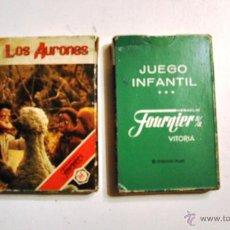 Baralhos de cartas: BARAJA DE CARTAS INFANTIL - JUEGO DE NAIPES LOS AURONES DE FOURNIER 1987. Lote 42562287