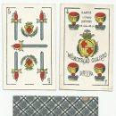 Barajas de cartas: BARAJA DE COLECCION ANTIGUA. WENCESLAO GUARRO. Lote 155714278
