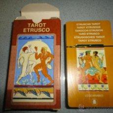 Barajas de cartas: BARAJA TAROT ETRUSCO. Lote 42645558