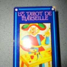 Barajas de cartas: BARAJA TAROT - LE TAROT DE MARSEILLE. Lote 42645580
