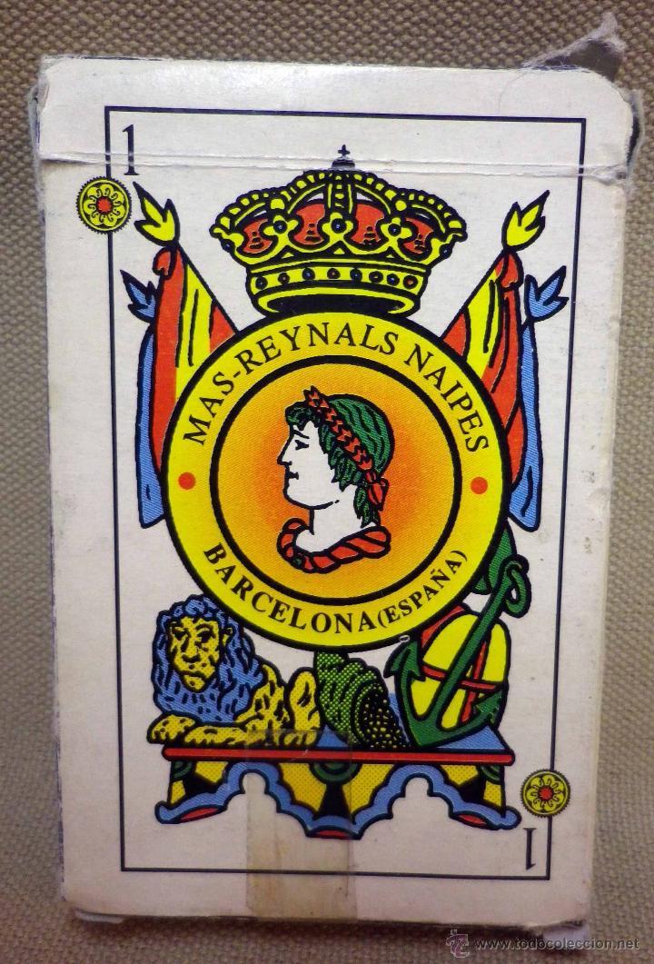 Barajas de cartas: BARAJA DE CARTAS ESPAÑOLA COMPLETA, MAS REYNALS NAIPES, BARCELONA - Foto 2 - 42656550