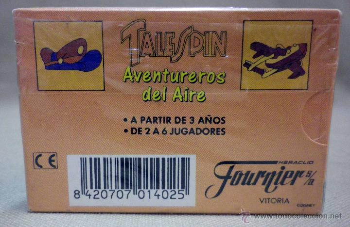 Barajas de cartas: BARAJA DE CARTAS INFANTIL, AVENTUREROS DEL AIRE, FOURNIER - Foto 6 - 42656673