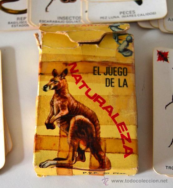 BARAJA INFANTIL * 42 CARTAS * EL JUEGO DE LA NATURALEZA * COMPLETA (Juguetes y Juegos - Cartas y Naipes - Barajas Infantiles)