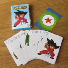 Mazzi di carte: BARAJA DE CARTAS FOURNIER DRAGON BALL - INCOMPLETA. Lote 42676771