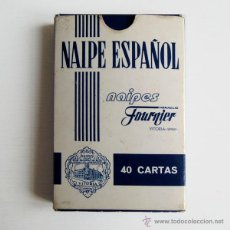 Barajas de cartas: HERACLIO FOURNIER - NAIPE ESPAÑOL (40 CARTAS) - PUBLI NIVEA FOR MEN. Lote 42705389