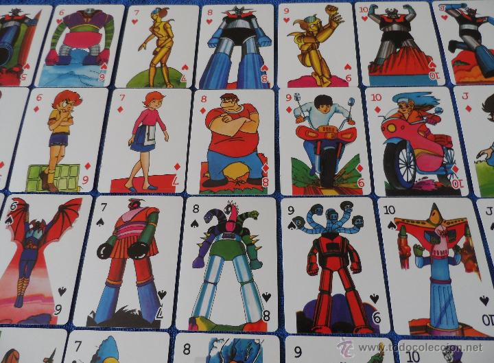 Barajas de cartas: Mazinger Z - Poker - micromo ¡Impecable! - Foto 4 - 91660064