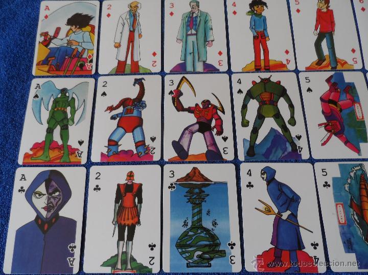 Barajas de cartas: Mazinger Z - Poker - micromo ¡Impecable! - Foto 5 - 91660064