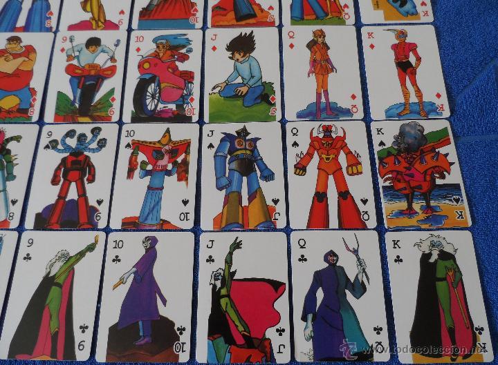 Barajas de cartas: Mazinger Z - Poker - micromo ¡Impecable! - Foto 7 - 91660064