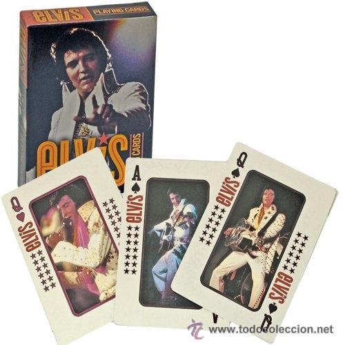 BARAJA DE POKER , ELVIS PRESLEY . NUEVA CON SU PRECINTO ORIGEN (Juguetes y Juegos - Cartas y Naipes - Barajas de Póker)