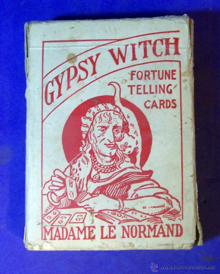 TAROT LA BRUJA GITANA MADAME LE NORMAND 1920 BARAJA OCULTISMO ESOTERISMO (Juguetes y Juegos - Cartas y Naipes - Barajas Tarot)