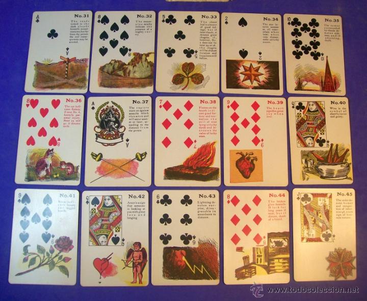 Barajas de cartas: TAROT LA BRUJA GITANA MADAME LE NORMAND 1920 BARAJA OCULTISMO ESOTERISMO - Foto 8 - 42965390