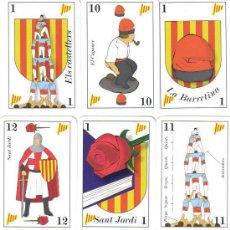 Baralhos de cartas: BARALLA DE LES CARTES CATALANES · BARAJA DE LAS CARTAS CATALANAS. Lote 261268730