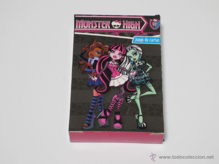 Barajas de cartas: JUEGO DE CARTAS MONSTER HIGH - Foto 1 - 43030093