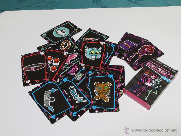 Barajas de cartas: JUEGO DE CARTAS MONSTER HIGH - Foto 2 - 43030093