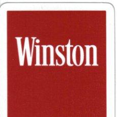 Barajas de cartas: BARAJA ESPAÑOLA PUBLICITARIA CIGARRILLOS WINSTON-FOURNIER. Lote 43122825