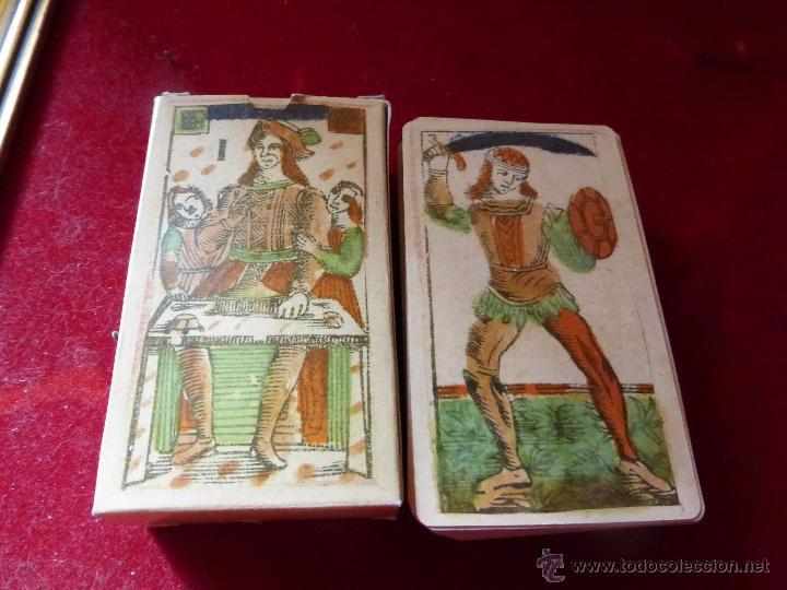 TAROT FLORENTINO MINCHIATE AL LEONE ITALIA 1790 - REPRODUCCIÓN FACSÍMIL (Juguetes y Juegos - Cartas y Naipes - Barajas Tarot)