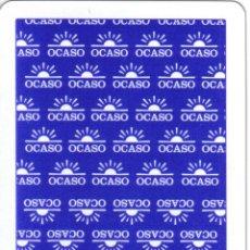 Barajas de cartas: BARAJA ESPAÑOLA PUBLICITARIA SEGUROS EL OCASO-FOURNIER. Lote 43123122