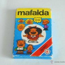 Barajas de cartas: BARAJA FOURNIER. MAFALDA. 1989. FALTAN LAS INSTRUCCIONES.. Lote 105851398