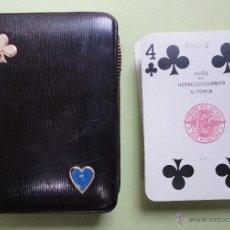 Baralhos de cartas: BARAJA DE PÓKER EN SU ESTUCHE. Lote 43306570