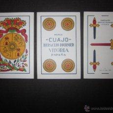 Decks of cards - BARAJA CARTAS CUAJO HERACLIO FOURNIER- AÑO 1962- 28 CARTAS , 7 POR PALO - (CR-607-BIS ) - 43349921