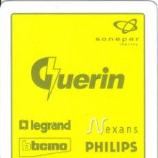 Barajas de cartas: BARAJA ESPAÑOLA PUBLICITARIA SUMINISTROS GLUERIN-FOURNIER. Lote 43368023