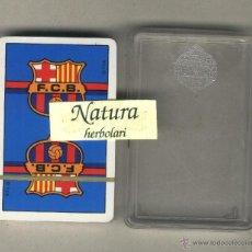 Barajas de cartas: BARAJA BARÇA. FUTBOL CLUB BARCELONA. HERACLIO FOURNIER. PRECINTADA.. Lote 43441696