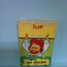 Barajas de cartas: BARAJA INFANTIL EL JUEGO DE JUAN SIN MIEDO EDICIONES RECREATIVAS 1979. COMPLETA Y PERFECTO ESTADO.. Lote 43443386