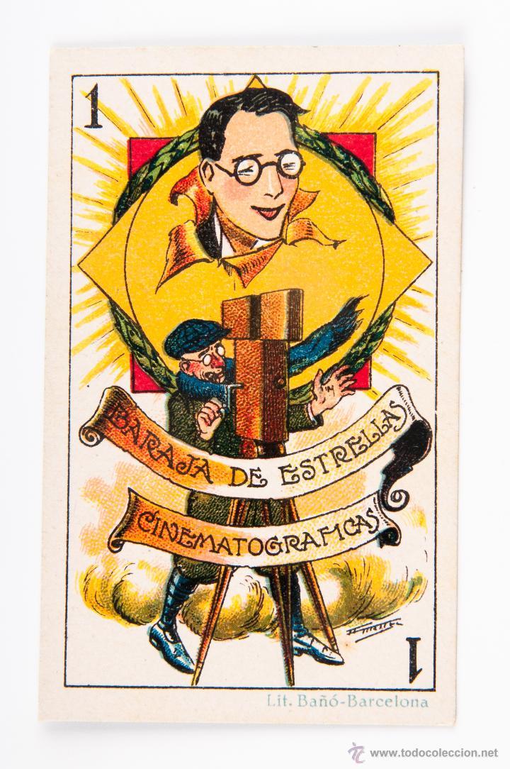 Barajas de cartas: BARAJA COMPLETA DE 48 CROMOS, BARAJA DE ESTRELLAS CINEMATOGRAFICAS, DE CHOCOLATE DE EVARISTO JUNCOSA - Foto 2 - 43464711