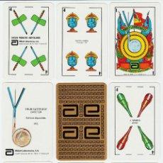 Barajas de cartas: JUEGO DE NAIPES PUBLICITARIO - ABBOT LABORATORIES, S.A. -.NEGSA., BARCELONA 1983.. Lote 43471221