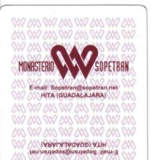 Barajas de cartas: BARAJA ESPAÑOLA PUBLICITARIA MONASTERIO SOPETRAN-FOURNIER. Lote 43481576