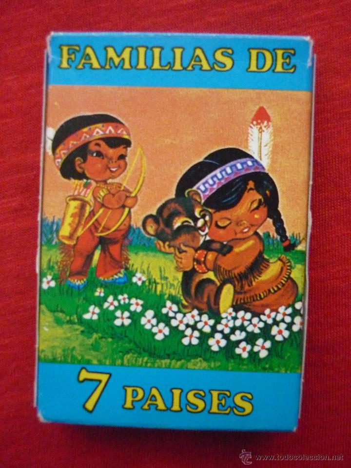 Baraja De Cartas Familias De 7 Paises Con Ca Vendido En Venta Directa 53760315