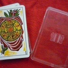 Barajas de cartas: BARAJA DE CARTAS VISCA CATALUNYA 48 CARTAS CON SU CAJA ORIGINAL- HERACLIO FOURNIER. Lote 43489462