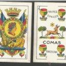 Barajas de cartas: BARAJA CARTAS NAIPES COMAS - LA REPUBLICA - COMPLETA 48 CARTAS - (CR-606). Lote 43491268