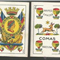 Barajas de cartas - BARAJA CARTAS NAIPES COMAS - LA REPUBLICA - COMPLETA 48 CARTAS - (CR-606) - 43491268