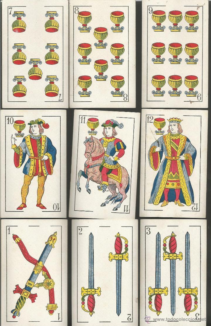 Barajas de cartas: BARAJA CARTAS NAIPES COMAS - LA REPUBLICA - COMPLETA 48 CARTAS - (CR-606) - Foto 4 - 43491268