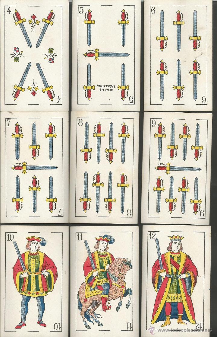 Barajas de cartas: BARAJA CARTAS NAIPES COMAS - LA REPUBLICA - COMPLETA 48 CARTAS - (CR-606) - Foto 5 - 43491268