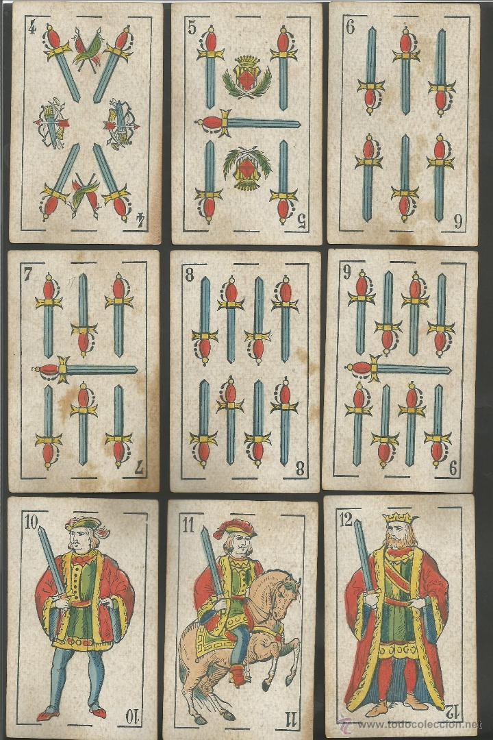 Barajas de cartas: BARAJA WENCESLAO GUARRO - FALTA 1 CARTA 2 DE BASTOS - (CR-607) - Foto 5 - 43491309