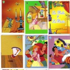 Barajas de cartas: BARAJA INFANTIL JUEGO DE PAREJAS LA BELLA Y LA BESTIA-AÑO 2010. Lote 43502070