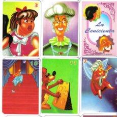 Barajas de cartas: BARAJA INFANTIL JUEGO DE PAREJAS LA CENICIENTA-AÑO 2010. Lote 43502417