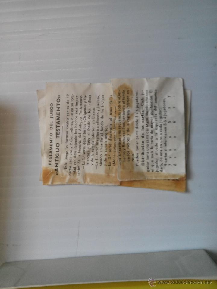 Barajas de cartas: doble baraja de fournier antiguo y nuevo testamento - Foto 3 - 43515877