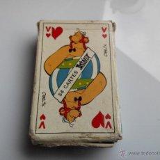 Barajas de cartas: BARAJA DE CARTAS ANTIGUA INFANTIL ASTERIX 54 CARTAS. Lote 43529959