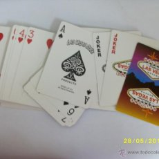 Barajas de cartas: BARAJA POKER LAS VEGAS NEVADAS. Lote 43543992